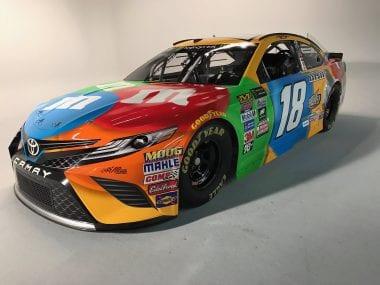 Kyle Busch 2017 Toyota Camry Racecar Photos