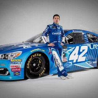 Kyle Larson 2017 Car - Credit One Bank Racecar