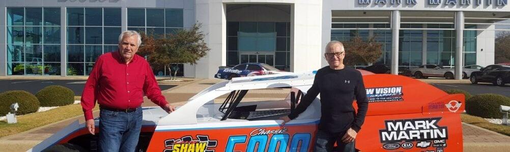 Larry Shaw Has Built A Lot of Race Cars