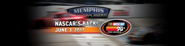 Memphis International Raceway NASCAR 2017