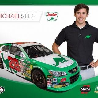 Michael Self Racing Sinclair Sponsorship