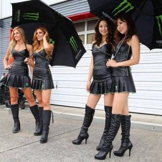 Monster Energy Gird Girl Photos