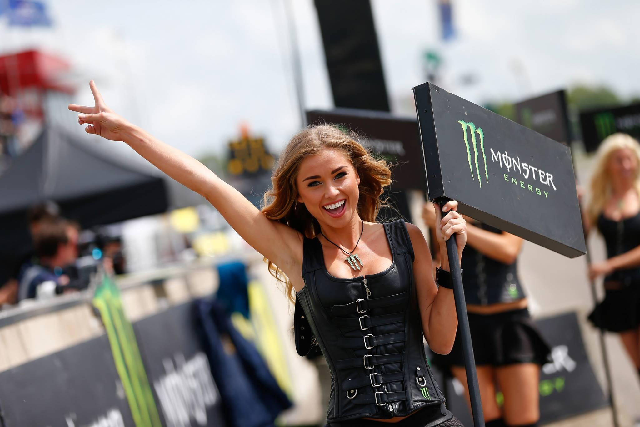 Monster Energy Girls Coming to NASCAR