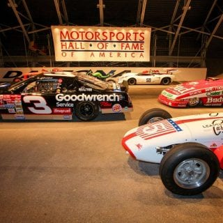 Motorsports Hall of Fame of America Dale Earnhardt Car