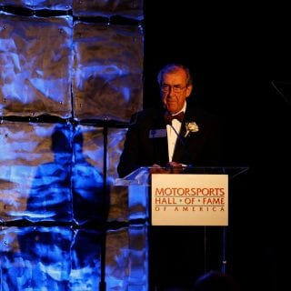 Motorsports Hall of Fame of America David Hobbs Induction