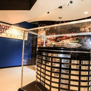 Motorsports Hall of Fame of America Daytona 500 Trophy
