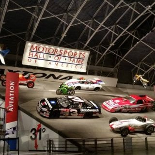 Motorsports Hall of Fame of America Daytona Wall