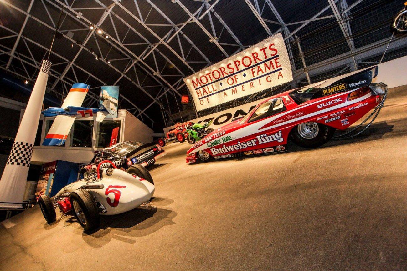 Motorsports Hall of Fame of America Drag Car