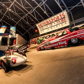 Motorsports Hall of Fame of America Drag Car