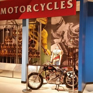 Motorsports Hall of Fame of America Motorcycles