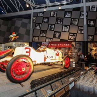 Motorsports Hall of Fame of America Old 3 Car
