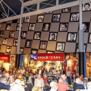 Motorsports Hall of Fame of America Picture Wall