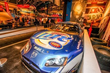 Motorsports Hall of Fame of America Rusty Wallace Last Ride Car