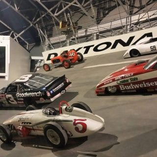 Motorsports Hall of Fame of America Track Wall