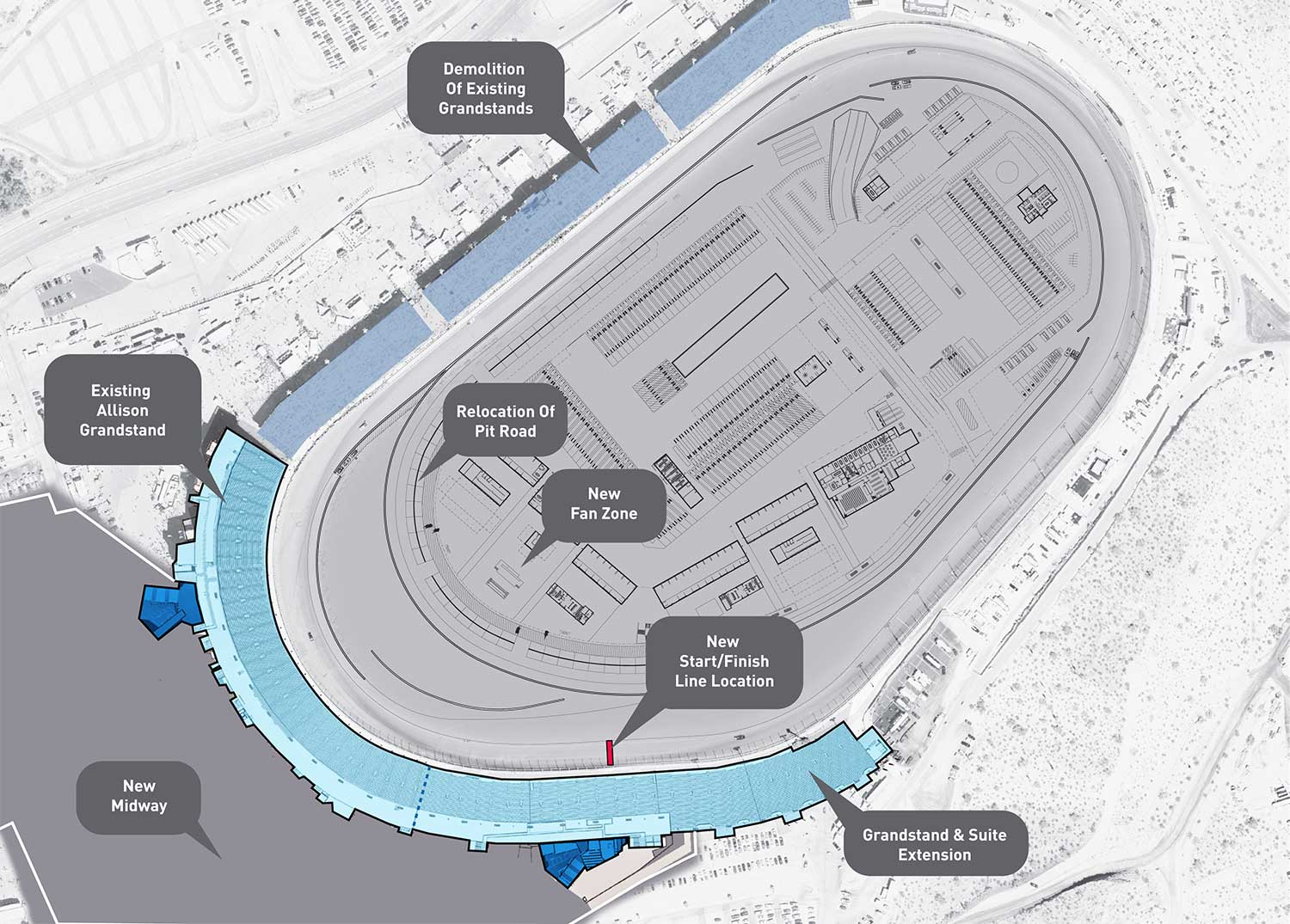 Phoenix Raceway Project Announced - $178 Million Track Re ...
