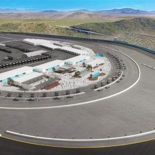 Phoenix Raceway Project - Dogleg Start Finish Line