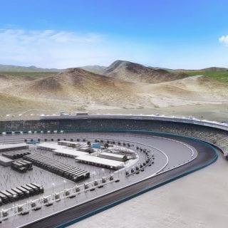 Phoenix Raceway Project - Pheonix Raceway Construction Graphic