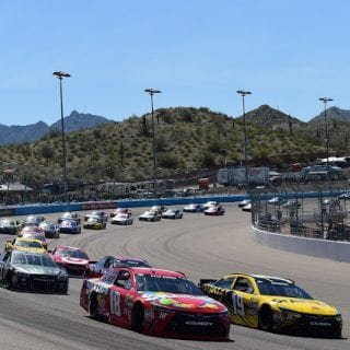 Phoenix Raceway Track Changes