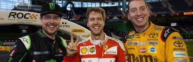 Sebastian Vettel Tops 2017 ROC Nations Cup Results