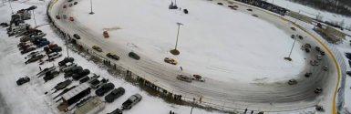 Snow Covered Oval Race – Car Ice Racing