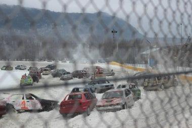 Speedway 51 Winter Car Race - Car Ice Racing