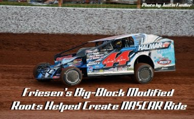 Stewart Friesen Super DIRTcar Series Dirt Modified