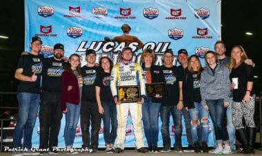 Tyler Courtney 2017 Chili Bowl Nationals Win