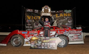 Wild West Shootout 2017 Results - Round 2 - January 8th, 2017 - Bobby Pierce Arizona Speedway Win