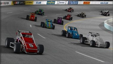 iRacing Non-Wing Sprint Car