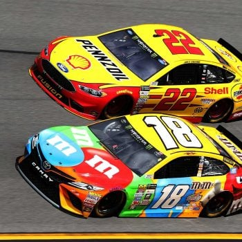 2017 Clash Results - Daytona International Speedway - Joey Logano and Kyle Busch - NASCAR