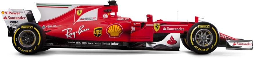 2017 Ferrari F1 Car Photo Album