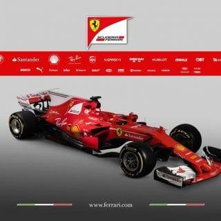 2017 Ferrari F1 Photos - SF70H