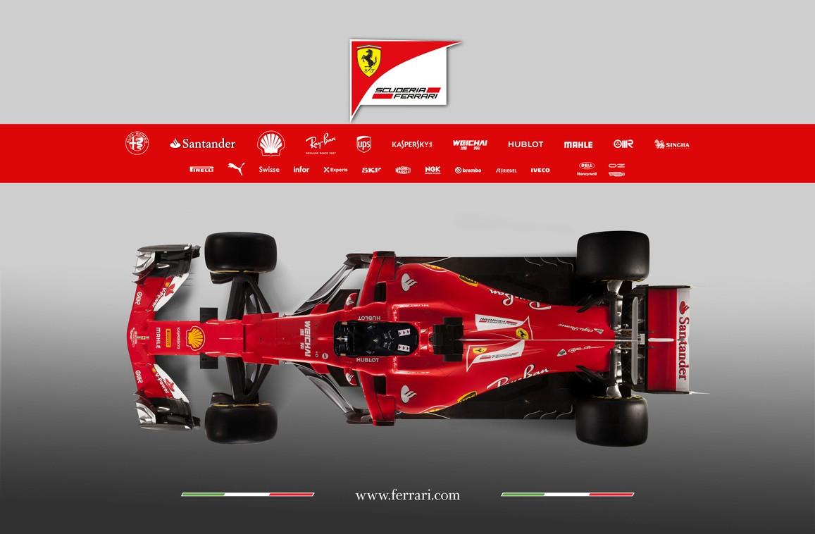 2017 Ferrari Formula 1 Car Photos - SF70H