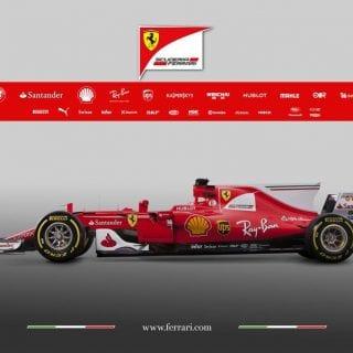 2017 Ferrari Formula One Car Photos - SF70H