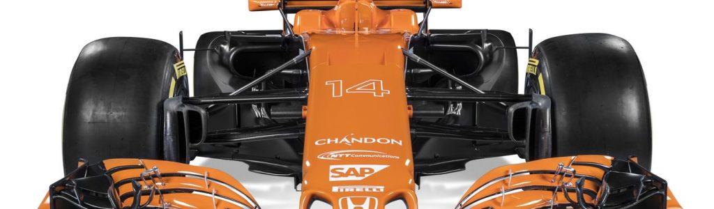 2017 McLaren F1 Car – McLaren-Honda MCL32