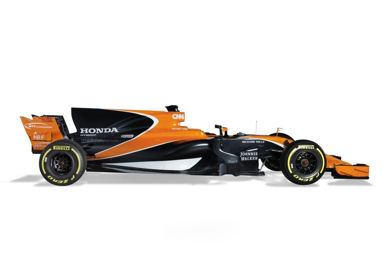 2017 McLaren-Honda F1 Car Photos - McLaren-Honda MCL32