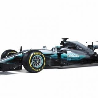 2017 Mercedes F1 Car Photography - W08
