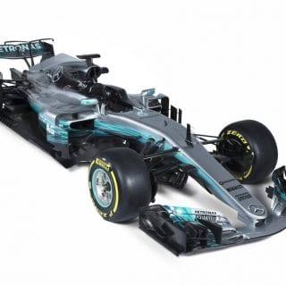 2017 Mercedes F1 Photos - W08