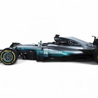2017 Mercedes Formula One Car Photos - W08