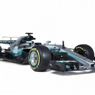 2017 Mercedes Formula One Photos - W08