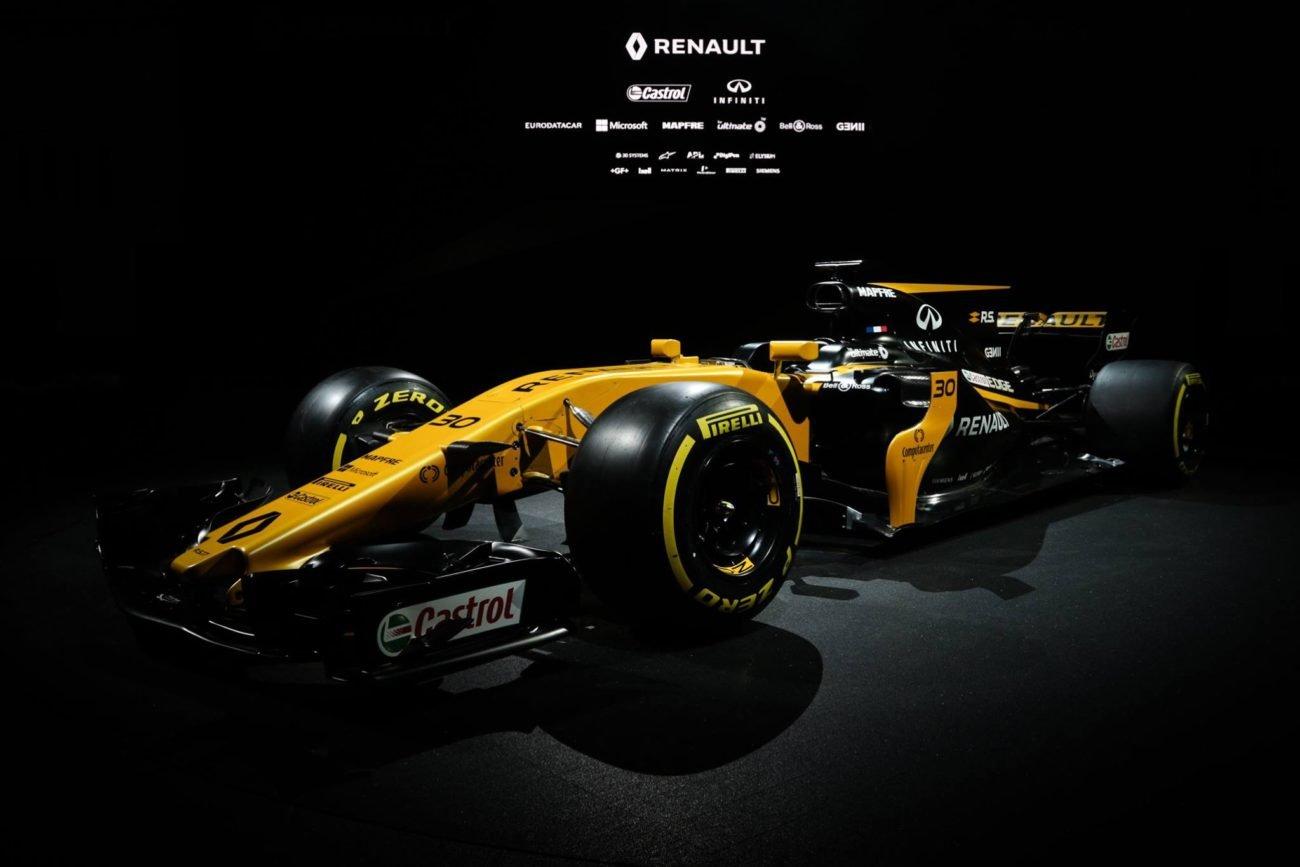 2017 Renault Sport F1 Car - R.S. 17