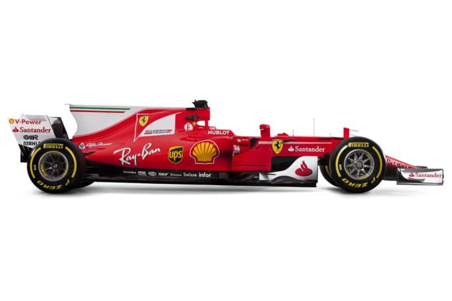 2017 Scuderia Ferrari f1 Car