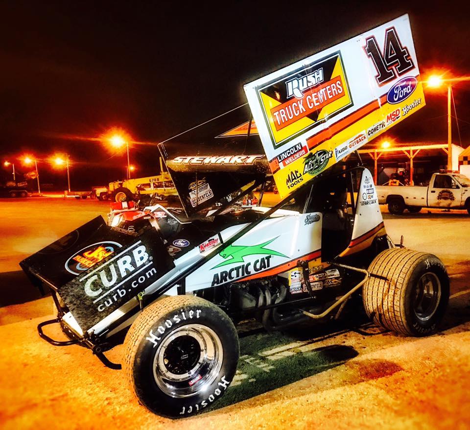 2017 Tony Stewart Dirt Sponsor - Rush Truck Centers