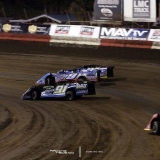 3 Wide East Bay Raceway Park Photo 4375