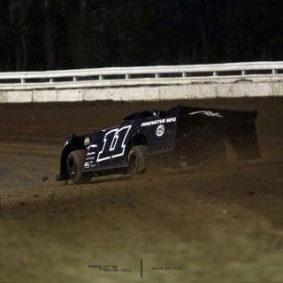 All Black Dirt Late Model 8027