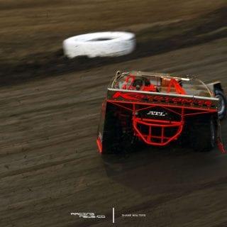 All Gold Dirt Late Model - East Bay Raceway Park 4188