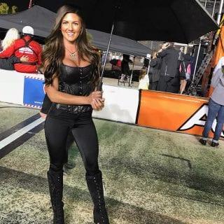Ashley Paige NASCAR Monster Energy Girls