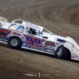 Boom Briggs Dirt Late Model - Bubba Raceway Photos 7986
