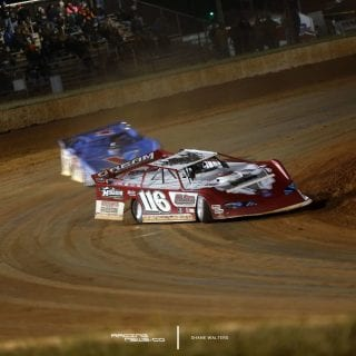 Brandon Overton First Lucas Oil Late Model Dirt Series Win