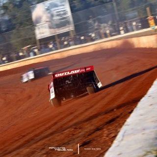 Brandon Overton Lucas Oil Late Model Dirt Series Win